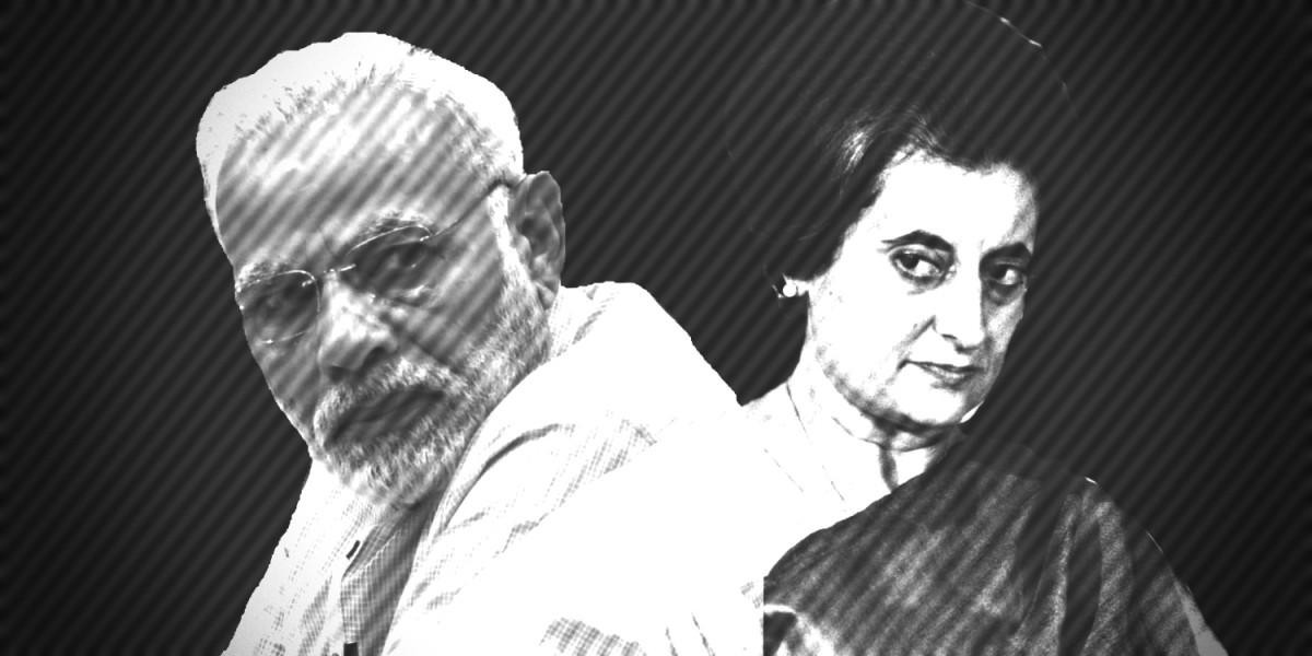 Narendra-Modi-Indira-Gandhi