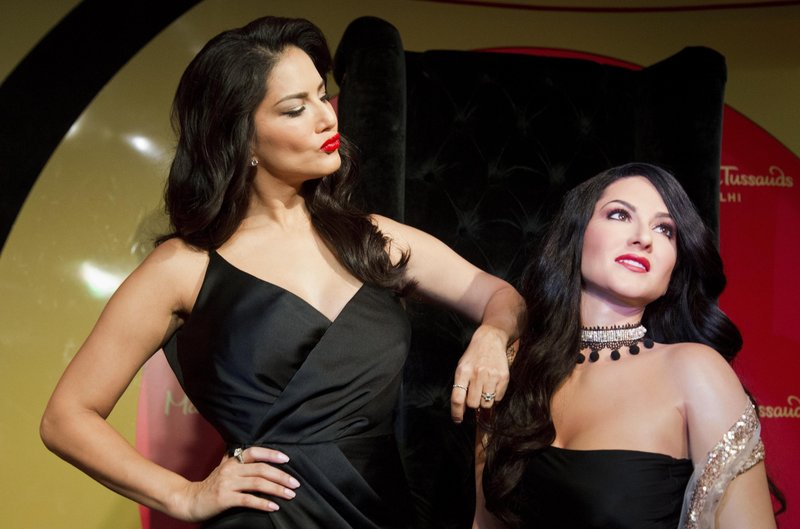 Bollywood actress and former porn star Sunny Leone appeared in New ...