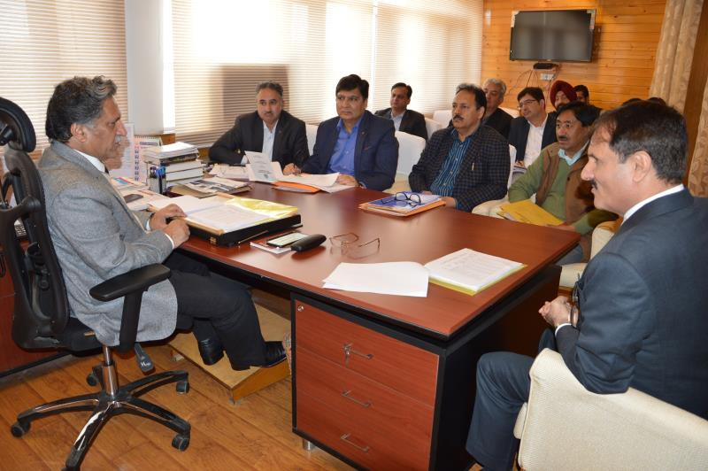 Advisor to Governor, Khurshid Ahmad Ganai Monday stressed on maintaining transparency in the execution of works-jkinf