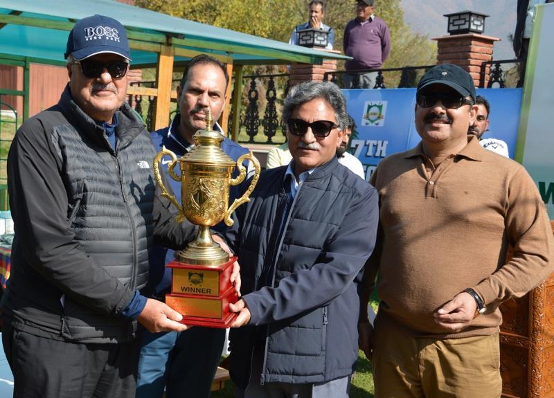 Advisor to Governor Khurshid Ahmad Ganai Sunday urged the national and international golf players to act as the ambassadors of Kashmir -jkinf