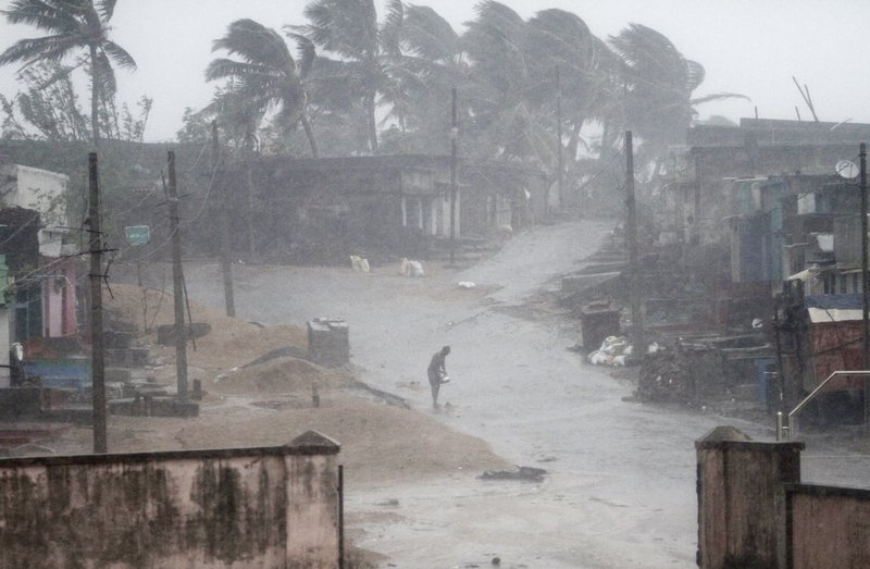 cyclonic storm in india-reuters