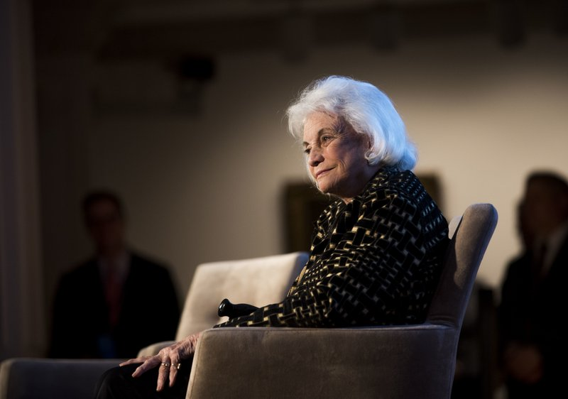 former Supreme Court Justice Sandra Day O_Connor-AP