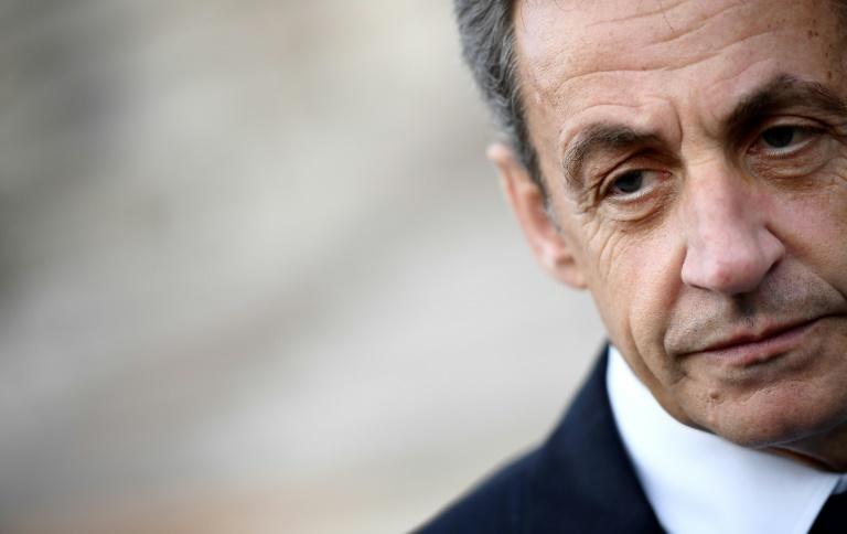 French former president Nicolas Sarkozy -afp