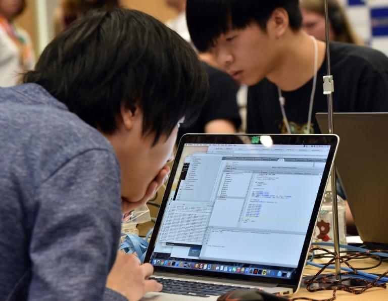 Japan cyber - AFP