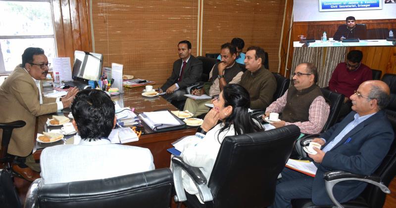 Principal Secretary Finance, Navin K Choudhary.