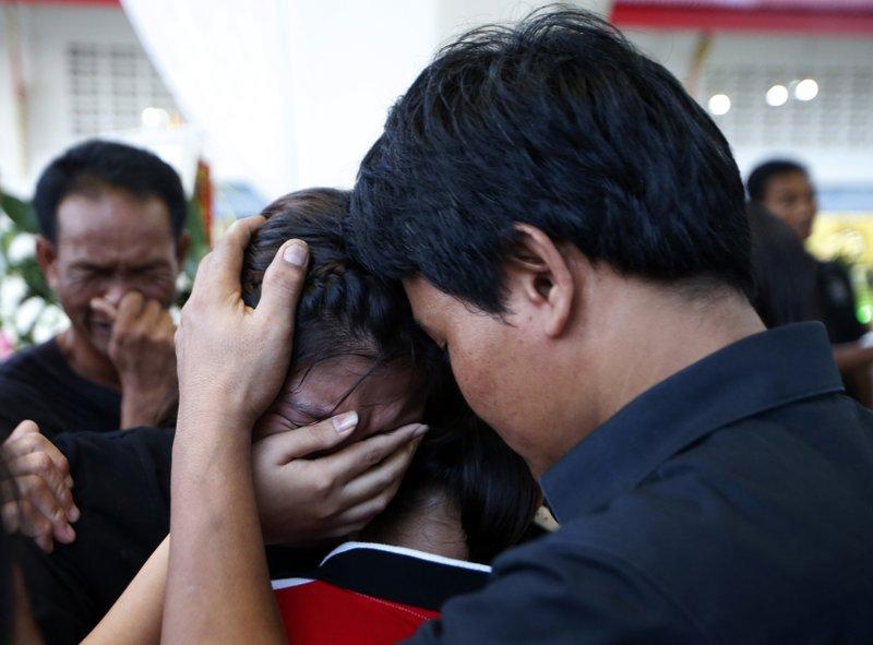 Thai kickboxer- AP