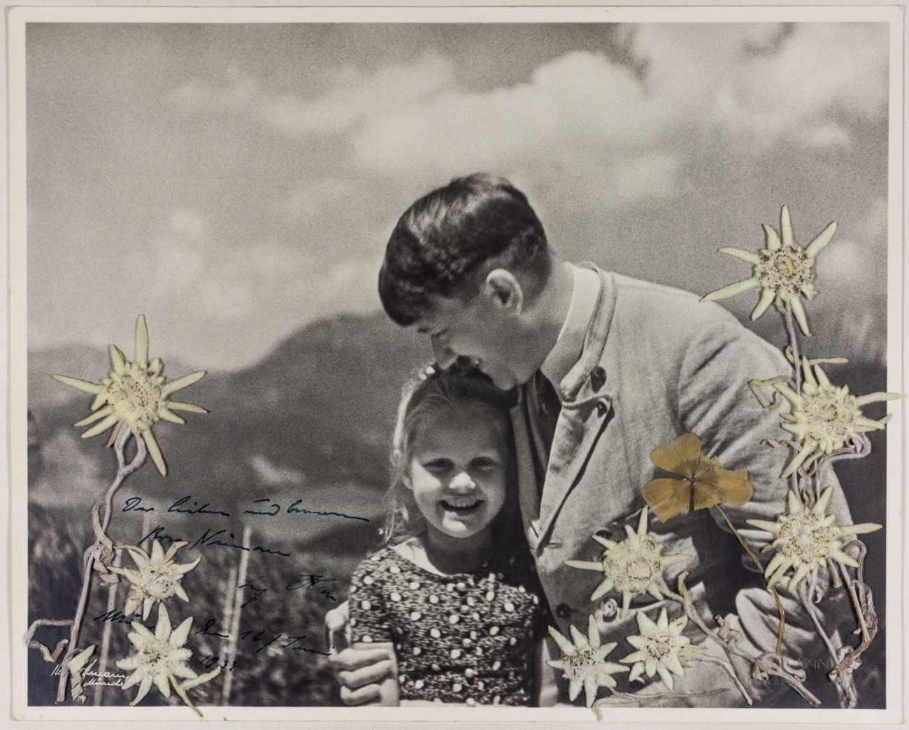Hitler hugging 6-year-old Rosa