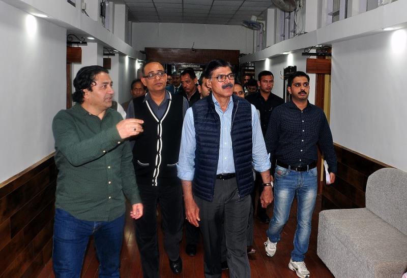 Advisor Kumar visits Civil Secretariat, inspects Darbar Move arrangements-jkinf