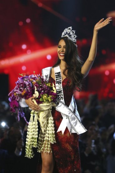Catriona Gray named Miss Universe- AP
