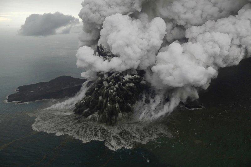 Anak Krakatau volcano