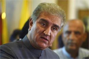 Qureshi telephones Mirwaiz; discusses Kashmir issue