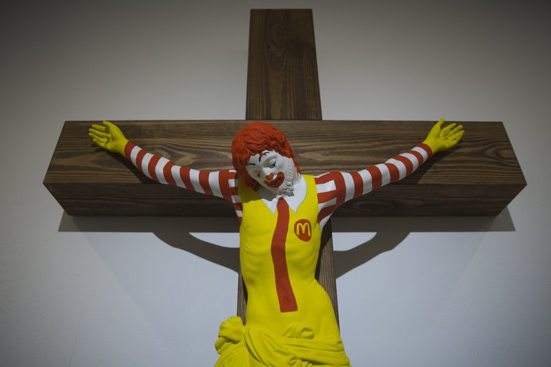 'McJesus' sculpture sparks outrage among Israel's Christians- AP