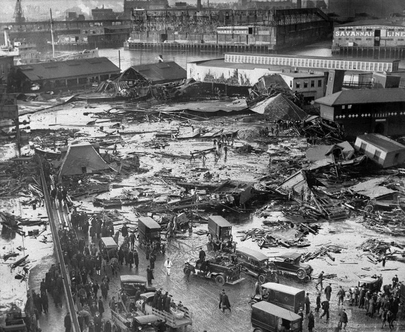 AP Was There: Boston's 'Great Molasses Flood' of 1919