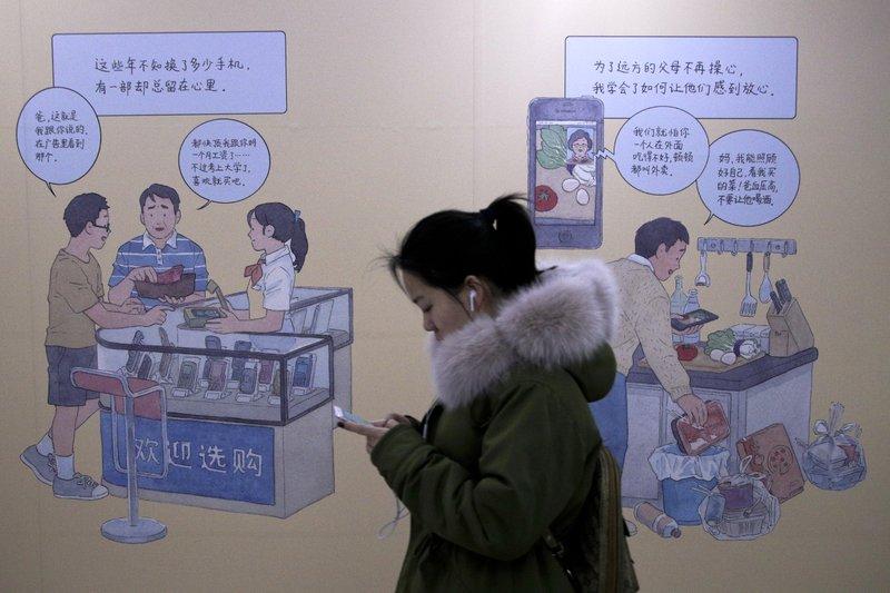 Waning iPhone demand highlights Chinese consumer anxiety- AP