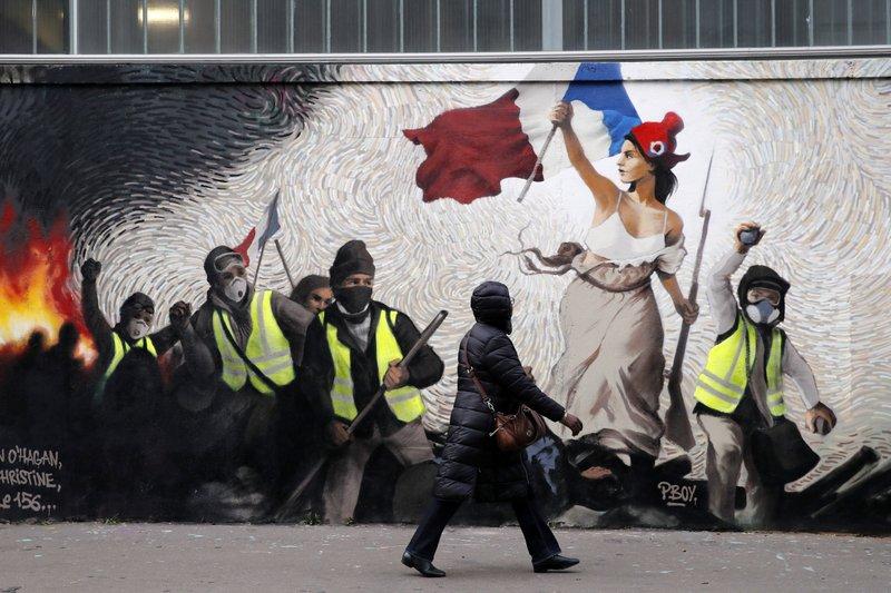 Paris, provinces brace for revived yellow vest protests- AP