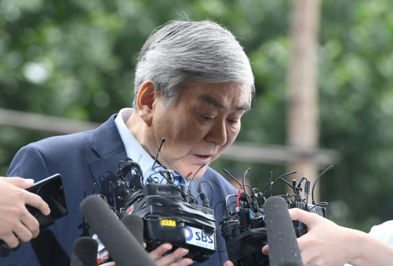 Scandal-hit Korean Air chief forced off board by shareholders