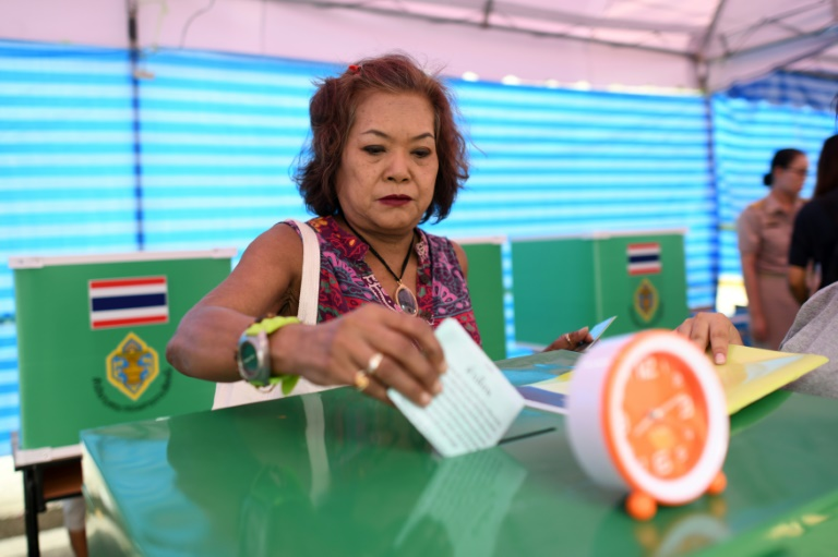 Thais vote in first general election since 2014 coup