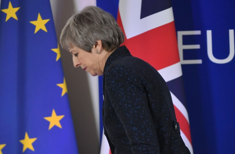 EU gives Britain six-month delay to Brexit date