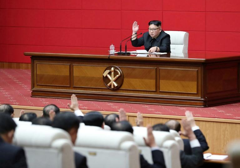 N. Korea urges 'telling blow' to forces imposing sanctions: KCNA
