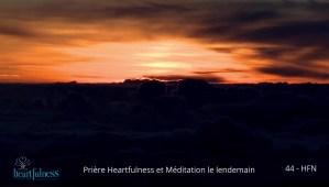 14-HFN44-La priere du soir et ses bienfaits sur la meditation du matin