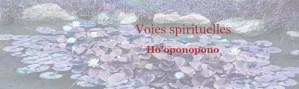 Voies spirituelles Ho'oponopono
