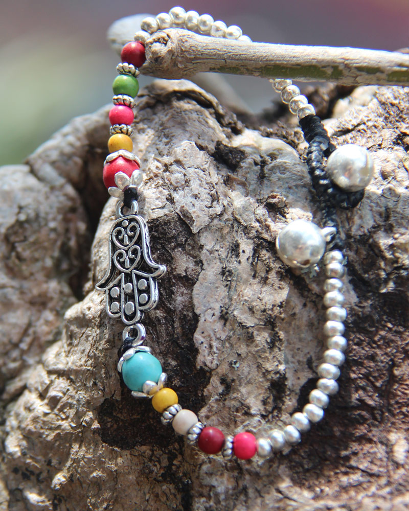 Bracelet with Bells: Hamsa