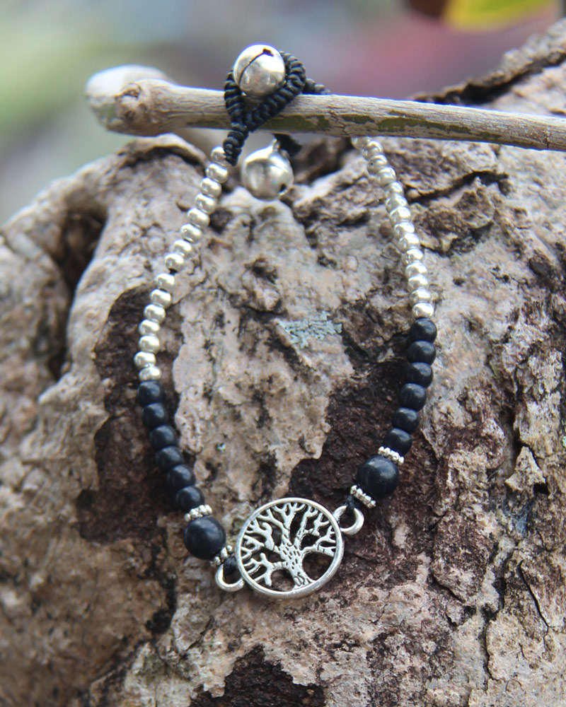 Bracelet with Bells: Tree of Life