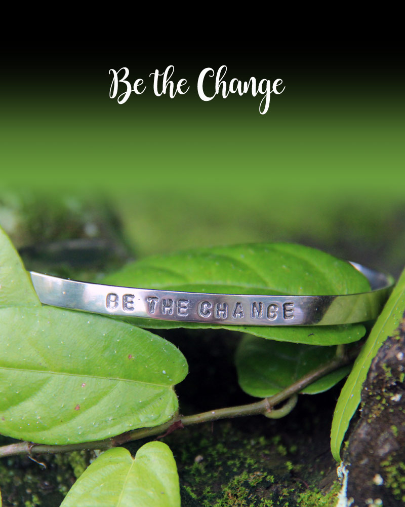 Good Vibes Bracelet: Be the Change
