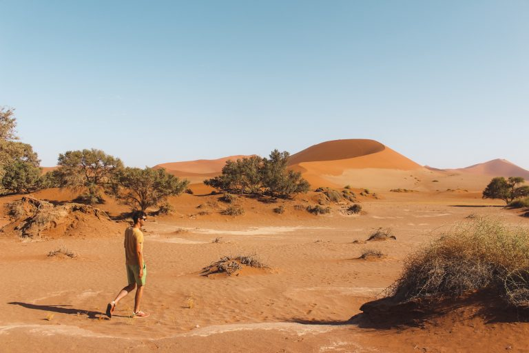 Sossusvlei | Namibia | The Orange Backpack