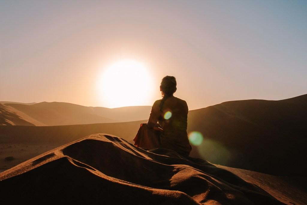 Sossusvlei in Namibië | rondreis in Namibië | De oranje rugzak