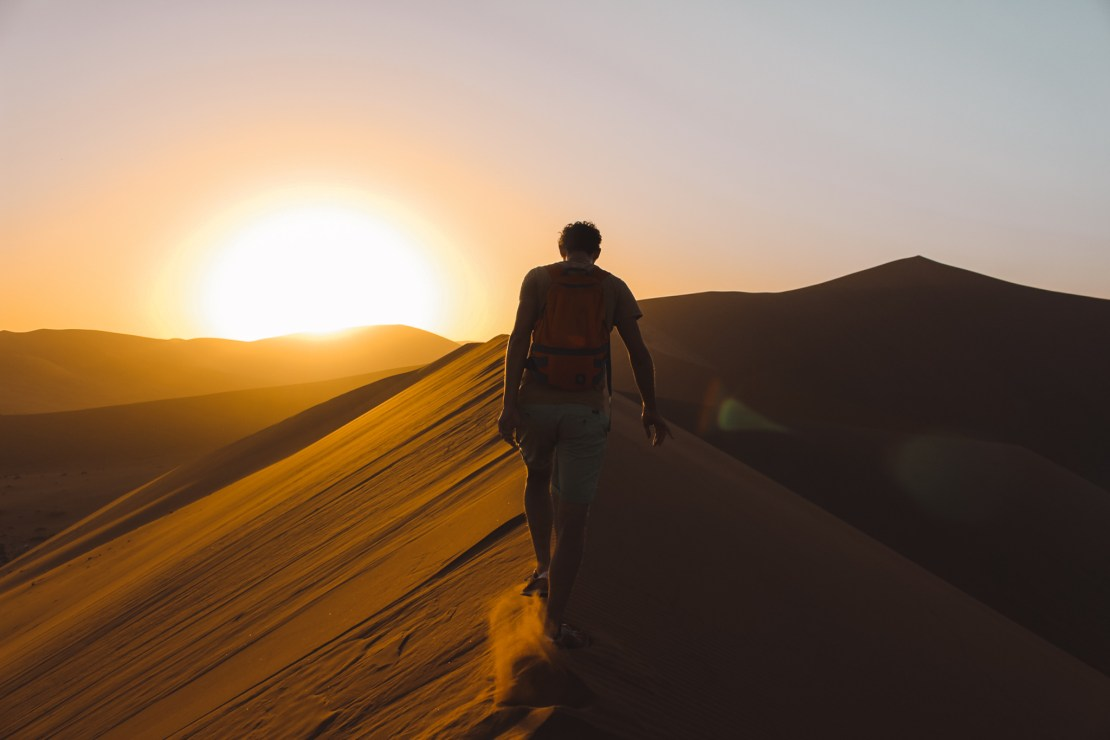 Sossusvlei | Namibia | The Orange Backpack