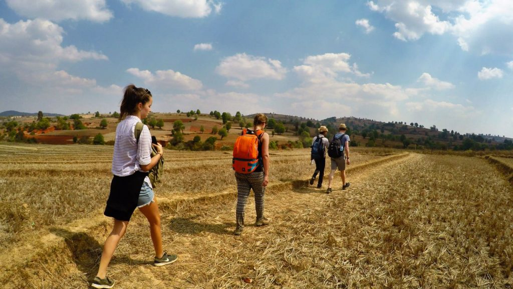 Kalaw hike Inle Lake | Myanmar | The Orange Backpack