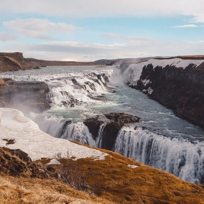 Golden Circle Gulffos waterval | rondreis IJsland | road trip Iceland | The Orange Backpack