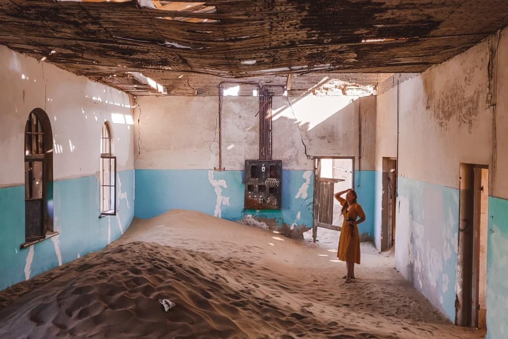 Kolmanskop | Lüderitz | Namibia | The Orange Backpack
