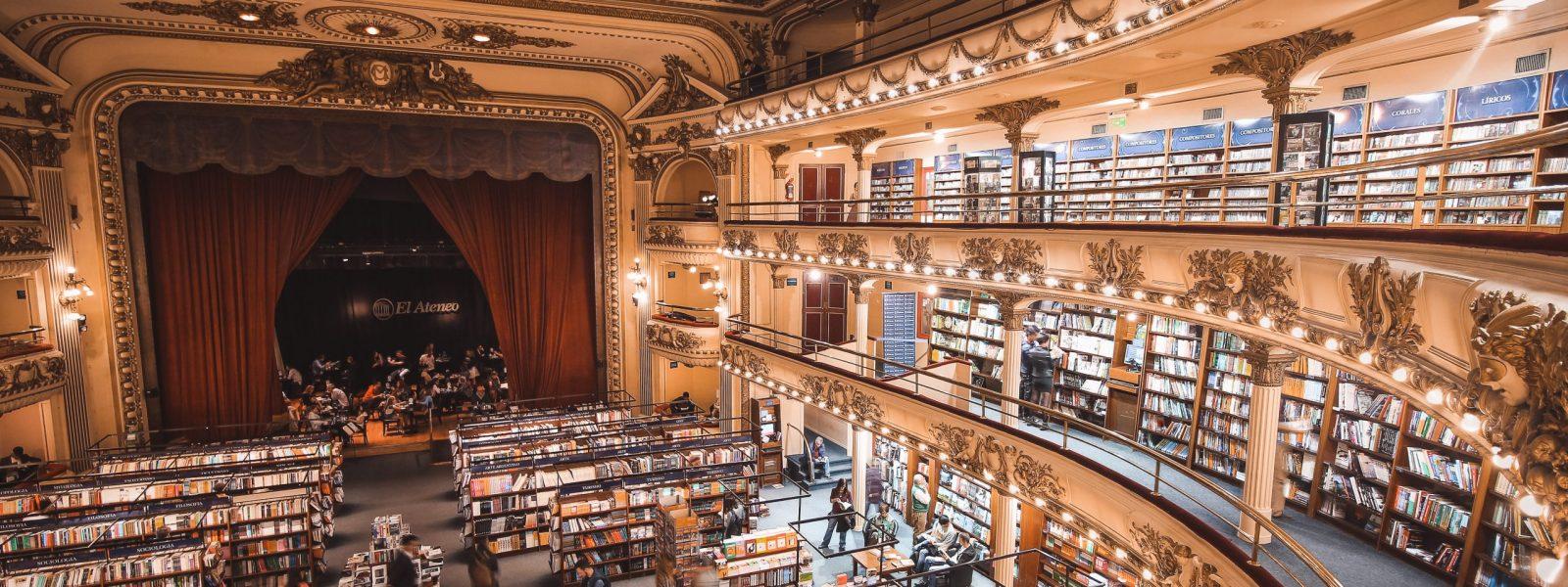 De 5 mooiste boekwinkels ter wereld