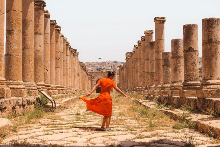 Jerash | Jordan | Jordanië | The Orange Backpack