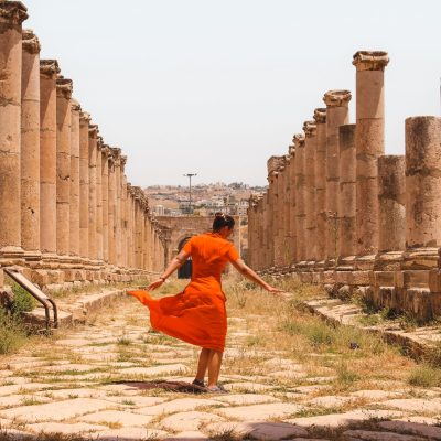 Jerash | Jordan | Jordanië | The Orange Backpack