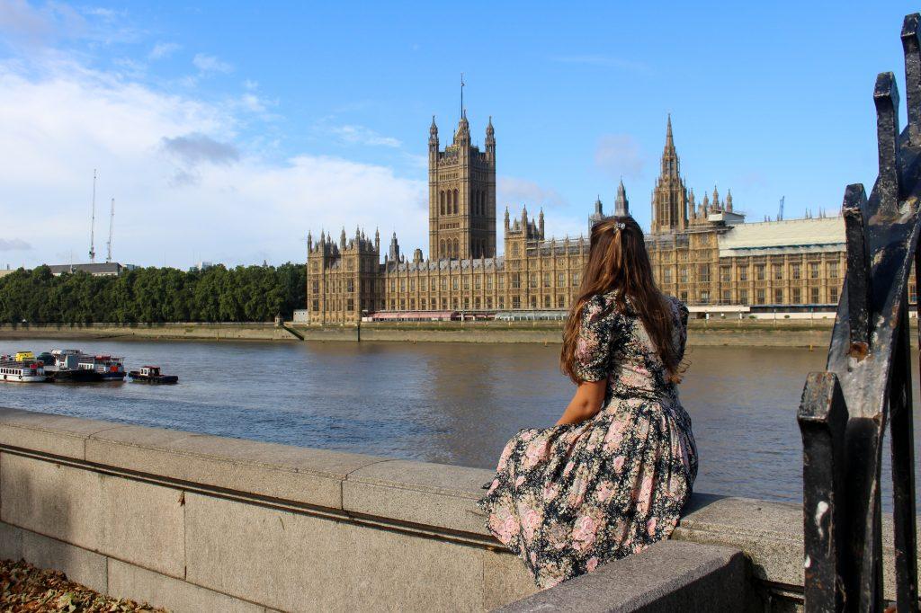 South Bank | Westminster Bridge | London | The Orange Backpack