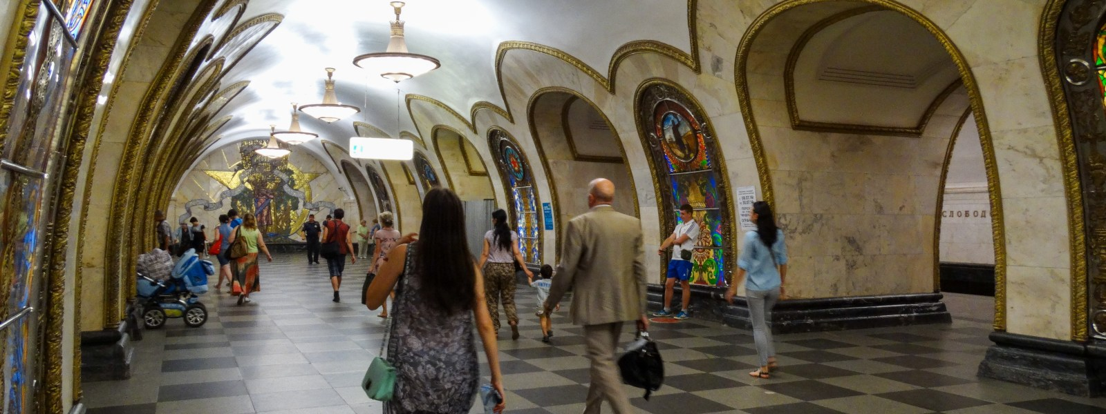 The underground palaces of the Moscow metro