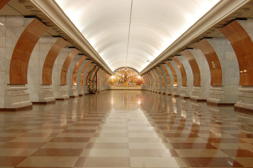 Metro van Moskou | Metro of Moscow | Rusland | Russia | The Orange Backpack