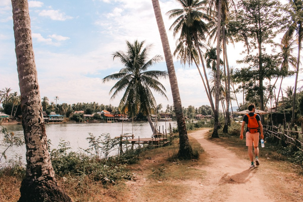 Don Det | Laos | Reisroute | Travel itinerary | The Orange Backpack