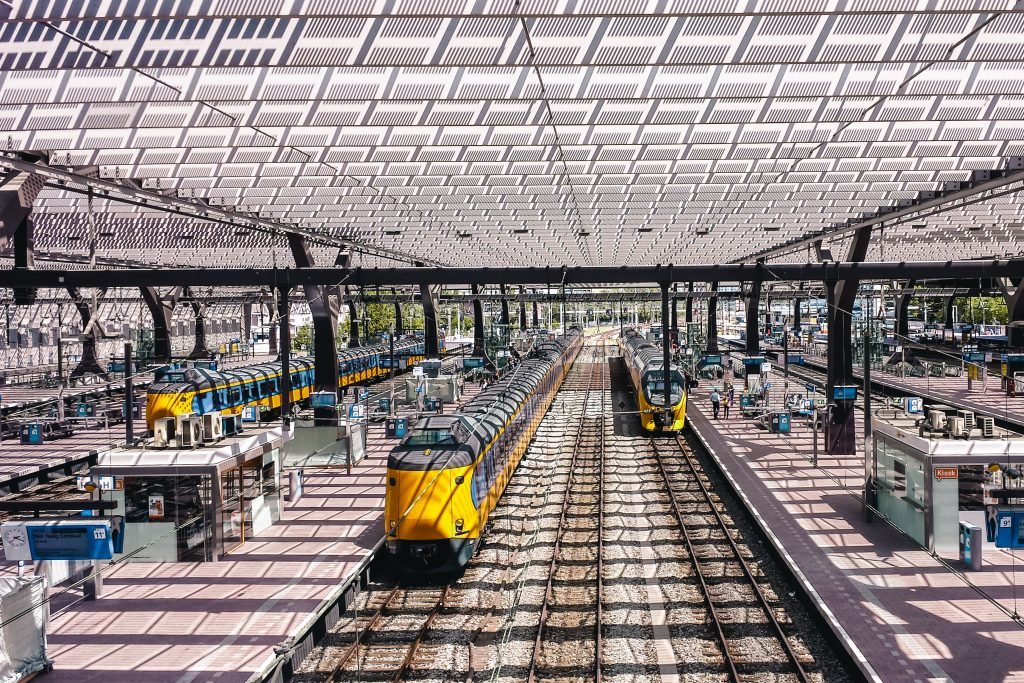 Eurovision Song Contest | Songfestival in Rotterdam | Reizen met de trein | The Orange Backpack