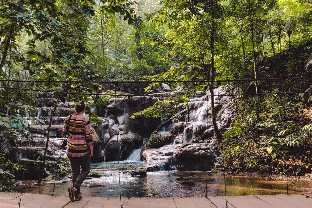 Palenque waterfalls | Yucutan Mexico | The Orange Backpack