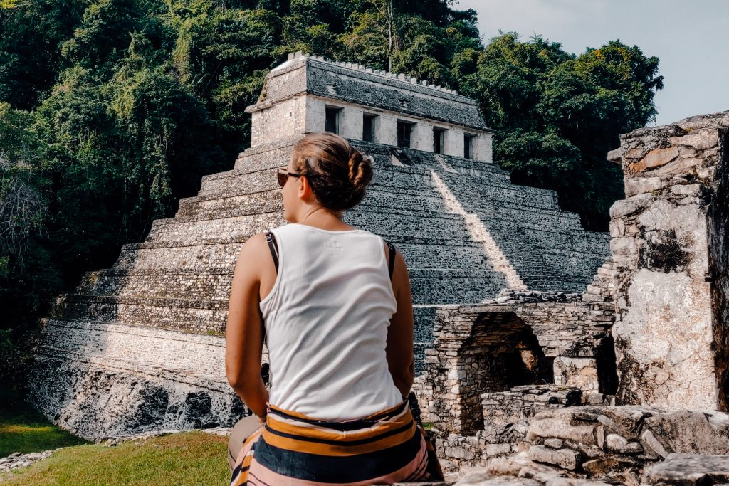 Palenque Maya site   Yucutan Mexico   The Orange Backpack