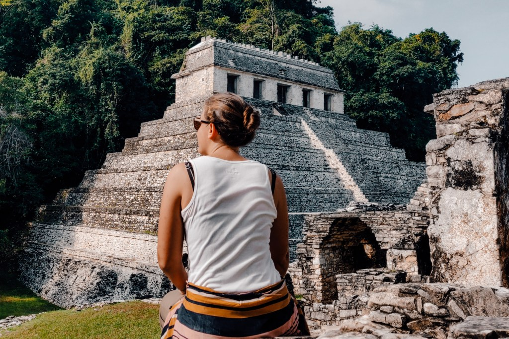 Palenque Maya site | Yucutan Mexico | The Orange Backpack