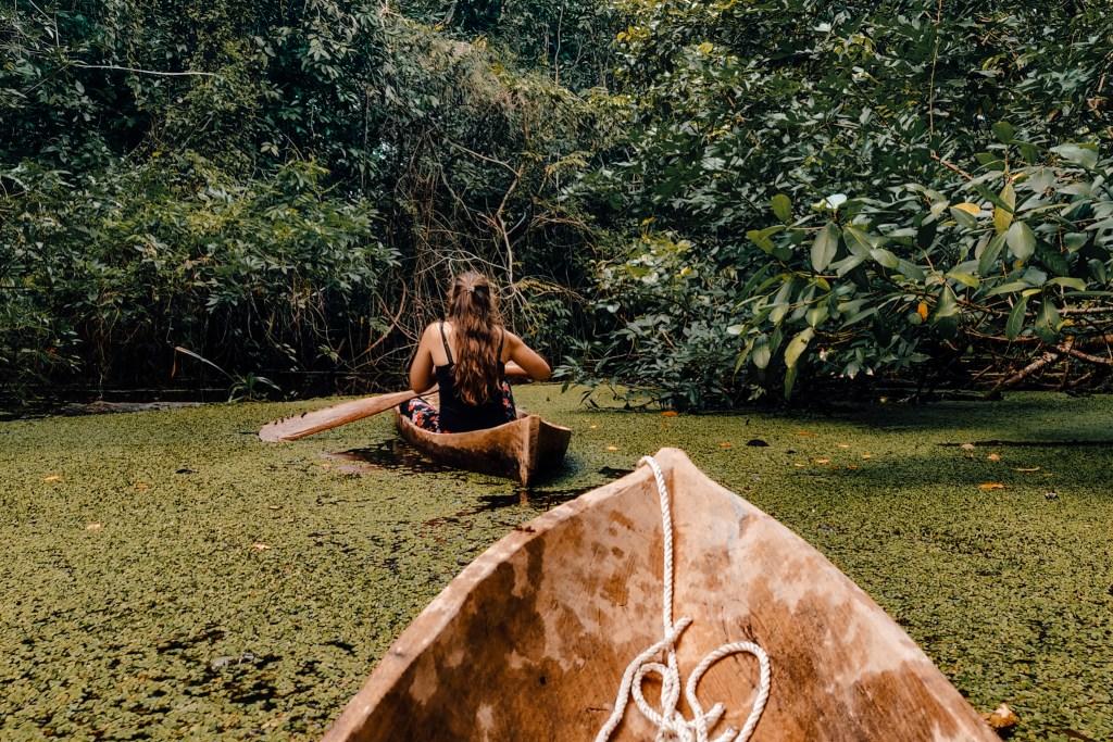 Rio Dulce Guatemala | De oranje rugzak