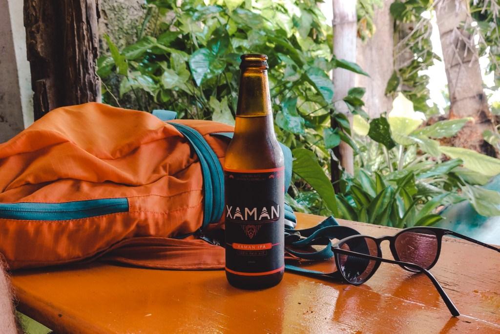 Flores Special beer Specialty beer | Guatemala | The Orange Backpack