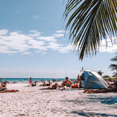 Tulum Beach | The Orange Backpack