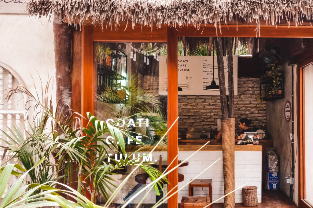 Coffee in Tulum, Mexico | Coffee | The Orange Backpack