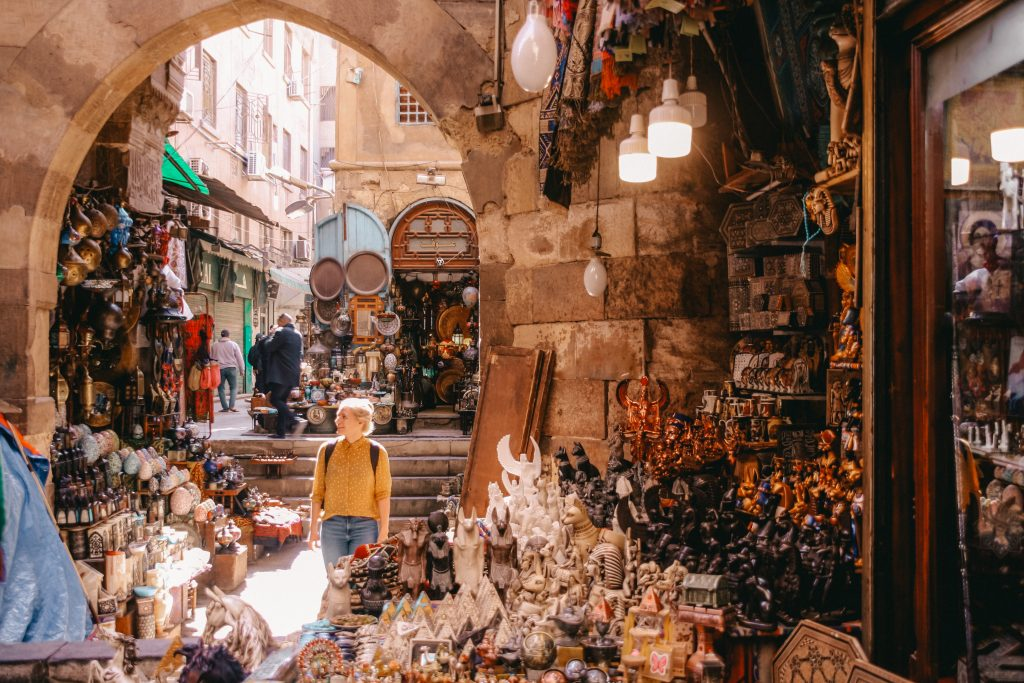Cairo Souk | Egypt Egypt The Orange Backpack